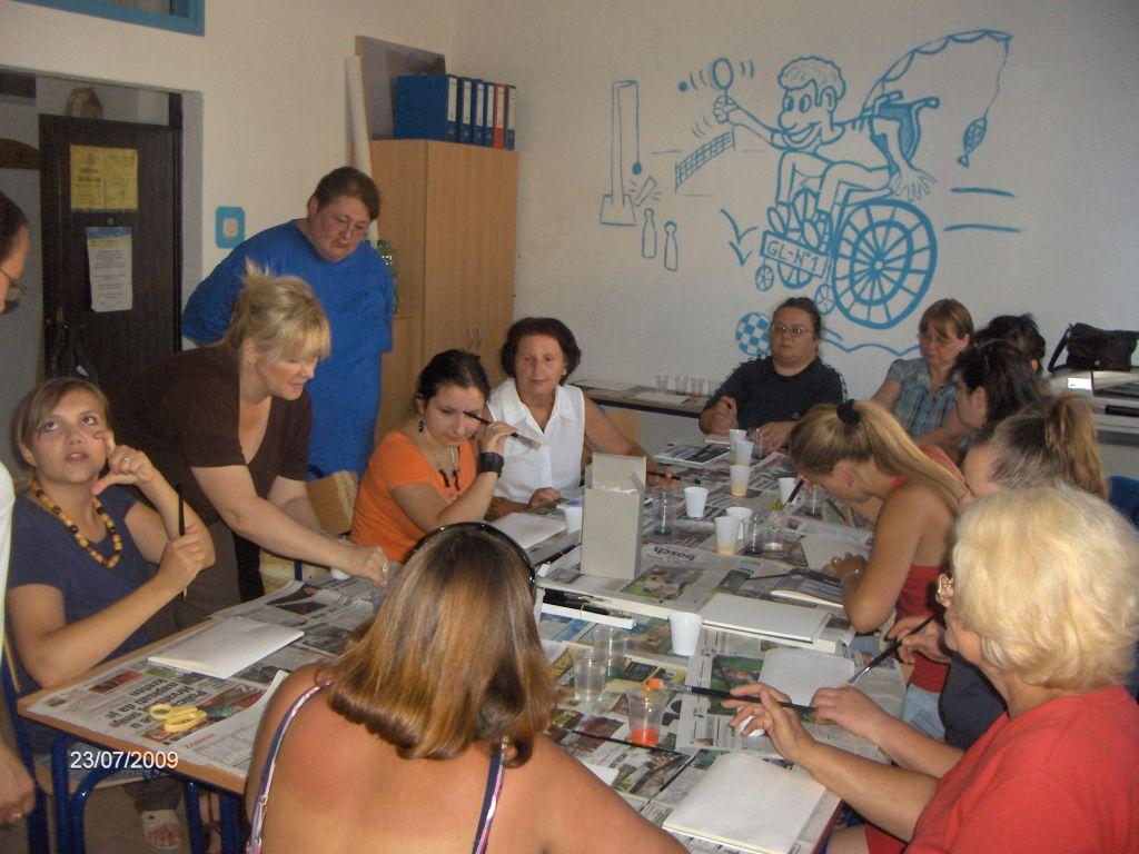 2009_radionica_oslikavanja_svile_Glina_02