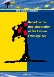 Report on the Implementation of the Law on Free Legal Aid (2015)